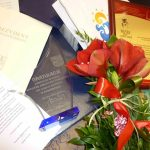 "Uhonorowanie medalem ""Bibliotheca Magna - Perennisque"""