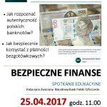 Bezpieczne finanse spotkanie