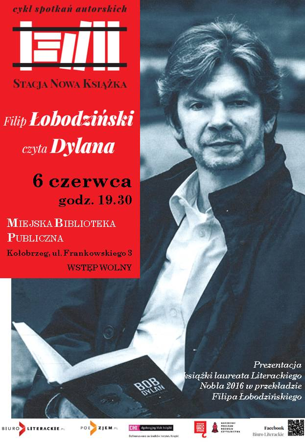 Filip Łobodziński spotkanie plakat