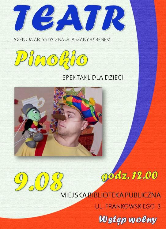 Spektakl Pinokio