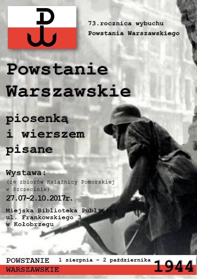 Powstanie Warszawskie wystawa plakat