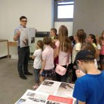 Wycieczka dzieci do wydawnictwa