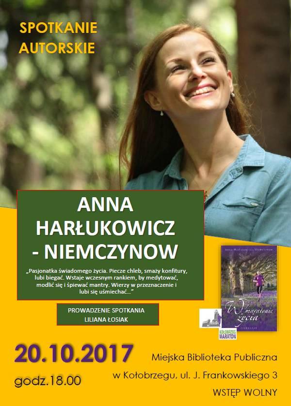 Spotkanie plakat Anna Harłukowicz - Niemczynow