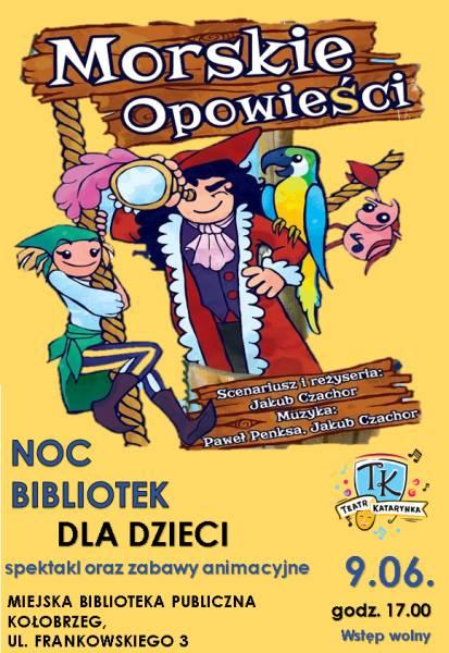 Noc Bibliotek dla dzieci