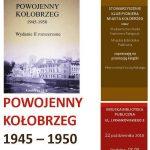 Promocja książki Powojenny Kołobrzeg