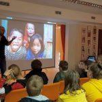 Dzieci świata- spotkanie Robbem Maciągiem