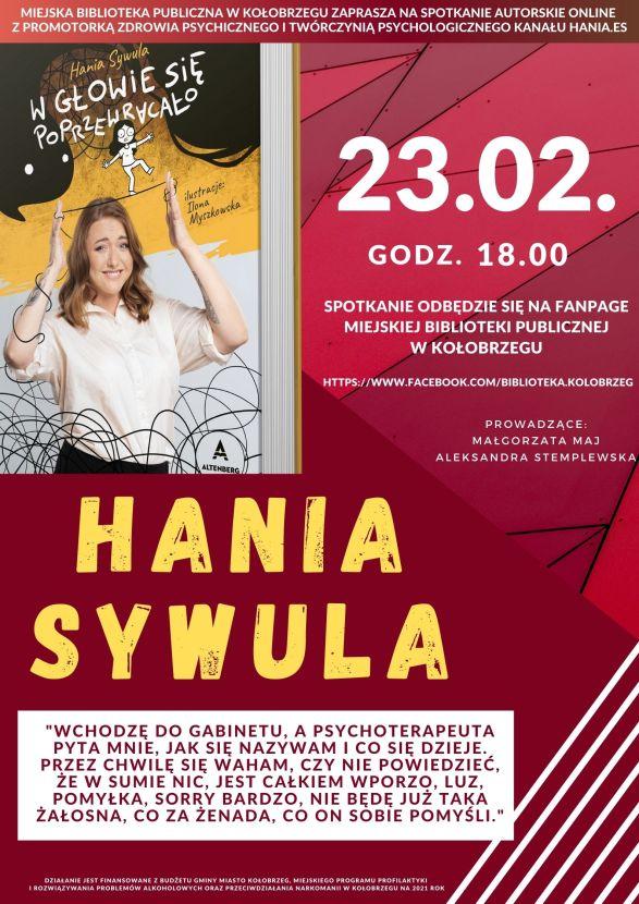 Hania Sylwunia spotkanie plakat